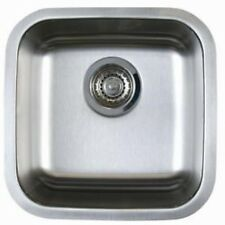 """18"""" x 18"""" x 8"""" Stainless Steel Under Mount Bar/ Prep/ Kitchen Sink 18 Gauge"""
