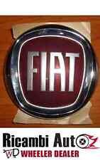 LOGO STEMMA FREGIO ROSSO POSTERIORE DIAMETRO 95MM FIAT 500 07> DAL 2007 IN POI