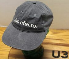 VINTAGE IFM EFECTOR SNAPBACK GRAY HAT ELECTRONICS SWITCHES SENSORS USA MADE VGC