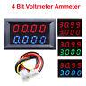 Digital LED 4 Bit 5 Drähte 0-33V 3A DC Voltmeter Amperemeter Amp Volt Meter AUTO