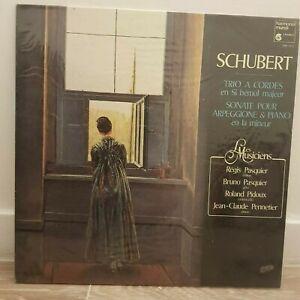 HM 1035 SCHUBERT TRIO A CORDES en Si bémol majeur SONATE ARPEGGIONE & PIANO