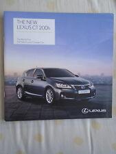 Lexus CT200h brochure Feb 2011