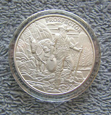 1 oz Silver Round In Air-Tite Capsule - Prospector