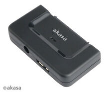 Akasa Flexstor DiskLink adattatore USB 3.0 per SATA HDD e SSD ak-au3-01bk
