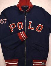 NWT $165 Polo Ralph Lauren SIZE SMALL Logo Baseball Bomber Jacket S
