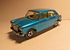 VINTAGE 1970  MATCHBOX # 64 A MG 1100 BLUE Superfast  Driver w/ Dog