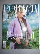 Magazine mode fashion PORTER Issue 4 fall 2014 Anja Rubik