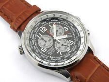 Citizen Men's Eco-Drive World Time Chrono Watch XL - 100m