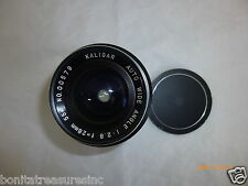 Vintage Kaligar 1:2.8 f=28mm Auto Wide Angle Lens Only
