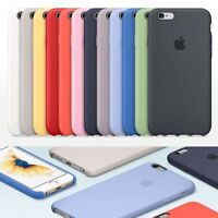 Official Genuine Original Silicone Case Cover For Apple IPhone X  6 6s 7 8 Plus