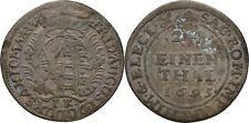 1/24 Taler 1695 Sachsen Dresden Friedrich August I., 1694-1733, Silber #FTC48