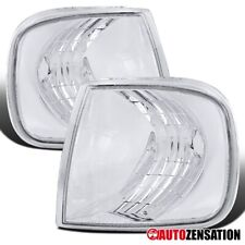 For 1997-2003 Ford F150 Expdition Clear Lens Corner Turn Signal Parking Lights