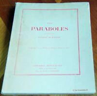 LES PARABOLES illustrées par Eugène Burnand 1918. Religion Christianisme Bible