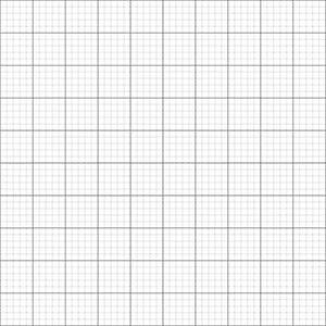 10 x GRID / GRAPH PAPER A2 metric 1mm 5mm 50mm squares premium paper