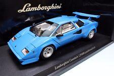 Rare!!! 7B22 Kyosho 1/18 Lamborghini Countach LP5000 QV quattrovalvole #08327BL