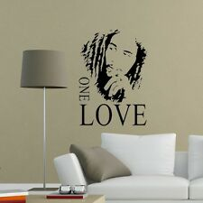 Wall Stickers Home Decor Decal Vinyl Art Quotes BOB MARLEY ONE LOVE