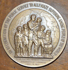 "HUGE MEDAL FROM CONGRESS ALBERT DOOLEY III BRONZE 3"" US MINT MEDAL SOLD OUT MINT"