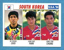 USA '94 - The Knight Figurina-Sticker n. 127 -CHOI#PARK#CHUNG-SOUTH KOREA-New