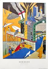 Affiche  EVER MEULEN New York Night and Day  68x98 cm