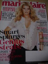 January 2009 Marie Claire Jessica Simpson sexy cover Chloe Sevigny
