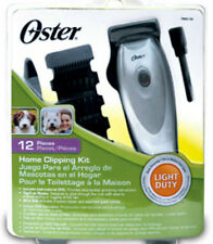 Oster 12 Pieces Pet Home Grooming Kit Dog NEW Clipping DVD Thin To Medium Coats
