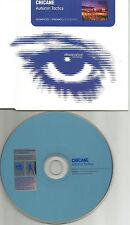 CHICANE Autumn Tactics 3TRX 2 RARE REMIXES & EDIT PROMO DJ CD Single USA seller
