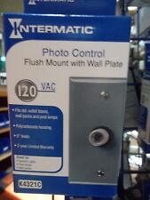 Intermatic K4321C Photo Control, Weatherproof Plate, 1800 Watts Photocell