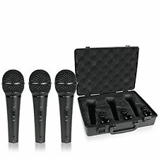 Behringer XM1800S ULTRAVOICE Dynamic Microphone Pack of 3color May Slightly V
