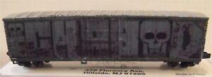 """Atlas N Scale 50"""" FGE Boxcar w/ Custom Decals. Ichabod. (Erie Lackawanna)"""