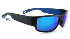 New Vuarnet Rider Sunglasses | VL1621 0003 Matte Black / Blue Flash Mirror Lens
