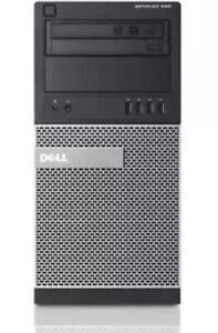 Dell Optiplex 990 Mini Tower Intel Core i7-2600 3.4GHz 16GB DDR3 RAM 512GB SSD