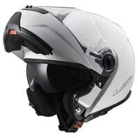 LS2 FF325 Strobe / Civik / Zone Intégral avant Basculable Casque Moto