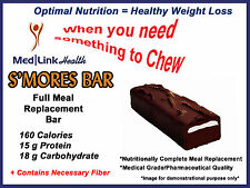 S'MORES BAR Weight Loss   6 Boxes   SIMILAR TO Optifast® 800