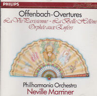 CD, Offenbach-Overtures Philharmonia Orchestra Neville Marriner Philips, Klassik
