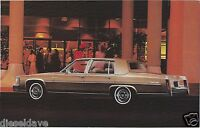 1980 Cadillac FLEETWOOD BROUGHAM Dealer Promotional NOS Postcard UNUSED VG+/EX ^