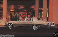 1980 Cadillac FLEETWOOD BROUGHAM Dealer Promotional NOS Postcard UNUSED VG+/EX ^