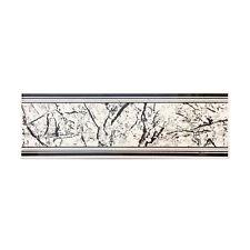 AREZIA listello da bagno PARTENONE argento ceramica 10x30