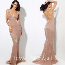 Sequin Backless Dresses for Women