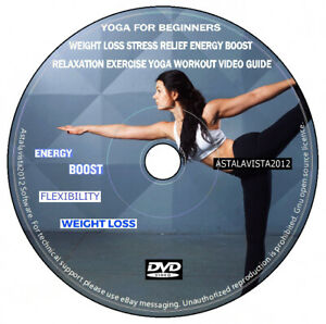 Yoga for Beginners Weight Loss Stress Relief Energy Boost Relaxation Workout DVD