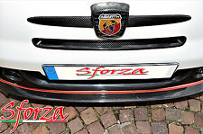 Abarth 500 front Lufteinlass Carbon Sforza