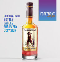 Personalised Spiced Rum, Jamaica bottle label -  PERFECT VALENTINES GIFT/PRESENT