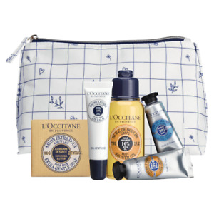 L'Occitane Shea Butter Discovery Collection 6 Piece - Body & Bath Gift Pack