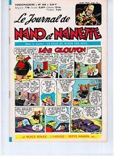 "REVUE BD ""NANO ET NANETTE no 466"" (1966) MARIJAC..."