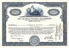 Lee Oil & Natural Gas Co