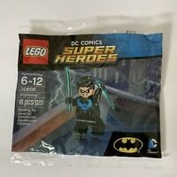 LEGO Nightwing Polybag 30606 Exclusive Minifigure DC Super Heroes