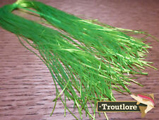 CHARTREUSE BUG LEGS - NEW RUBBER LEG FLY TYING MATERIAL TROUTLORE