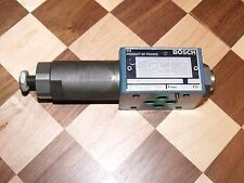 Bosch Rexroth Pressure Reducing Valve 7 472 857 509 FE3SBPDM01S50 Modular DO3