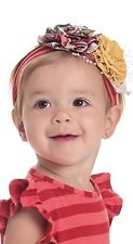 Persnickety Margy Headband Size Small New! Rosette Yellow And Multi Color
