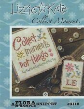 Lizzie Kate Collect Moments Not Things Cross Stitch Chart