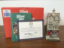 Lilliput Lane Cottage Book Shop Bookshop Victorian Shops Collection Miniatures